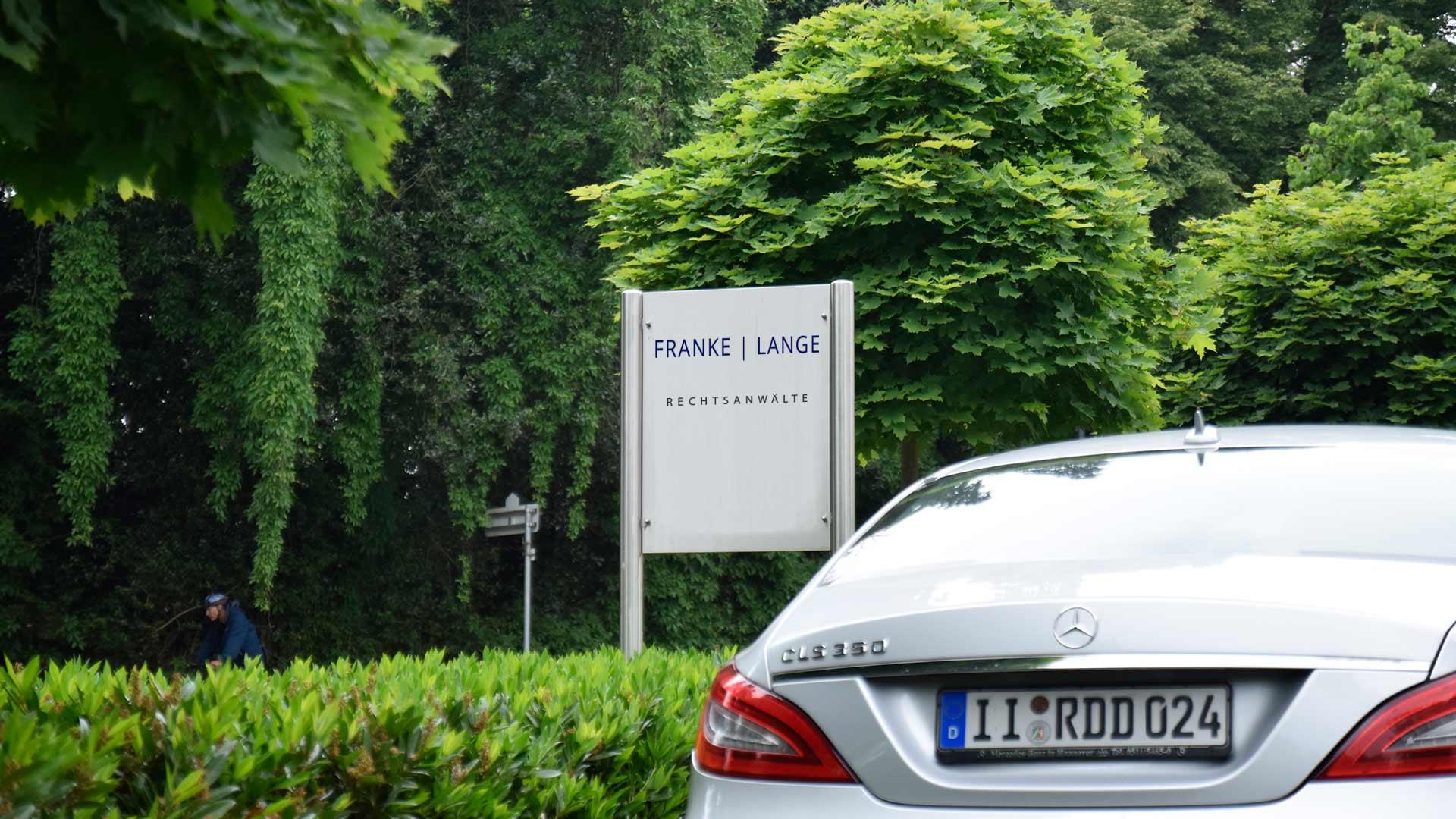 Parkplatz Isselhorst an der Kanzlei